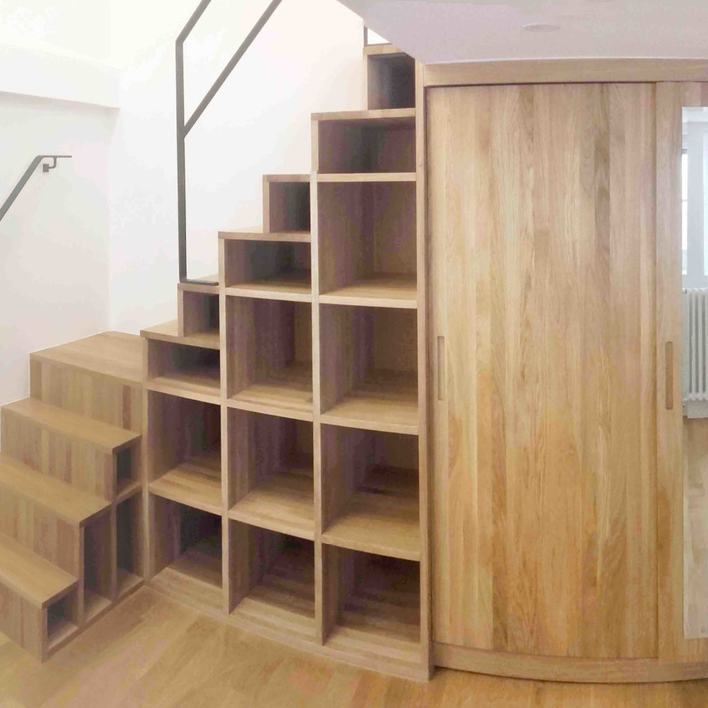 Rénovation lourde appartement ds le Marais (75)